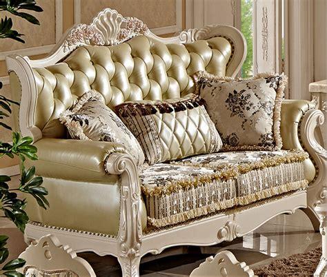 Villa Antique Sofa Set Designs Fc8800 In Living Room Sofas