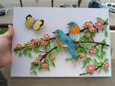 quilling tutorial bird pin by nancy klarer on quilling pinterest quilling and