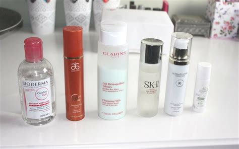 Toner Sk 11 time skincare routine featuring sk ii rosehip