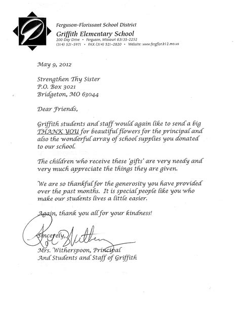 Community Service Letter For Student Community Initiatives