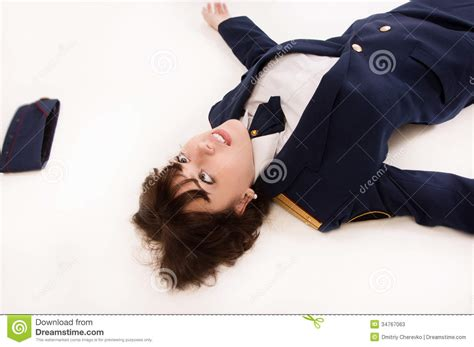 Lying To A Officer by Officer Lying On A Floor Stock Photos Image 34767063