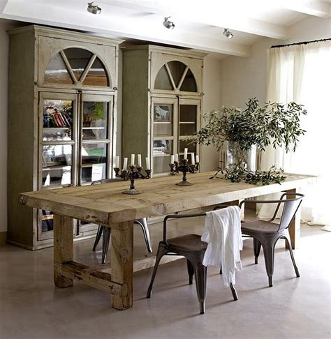 Rustic Dining Room Furniture 17 Best Ideas About Rustic Dining Rooms On Rustic Chic Decor Rustic Mirrors And