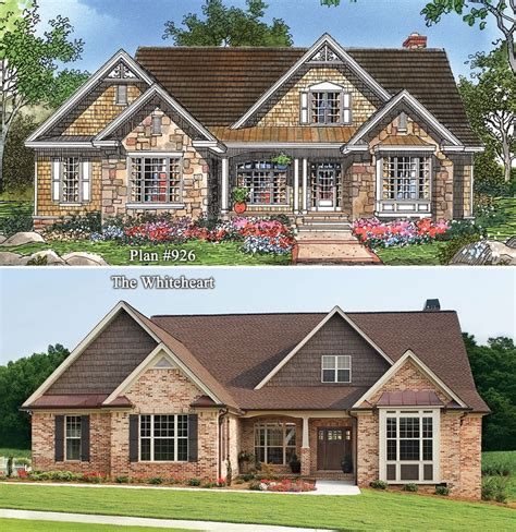 one story brick house plans single story stone and brick houses www pixshark com