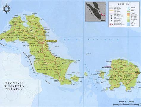 Peta Wisata Provinsi Kepulauan Bangka Belitung Kota Pangkalpinan H1051 tulisan adalah ungkapan jiwa profil provinsi kepulauan