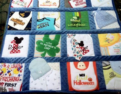 Diy Baby Clothes Quilt by Best 25 Baby Clothes Quilt Ideas On Baby