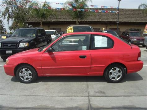 2002 Hyundai Accent Hatchback by 2002 Hyundai Accent Gs 2dr Hatchback In Madera Ca
