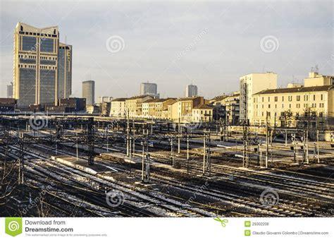 stazione ferroviaria porta garibaldi stazione di porta garibaldi fotografie stock