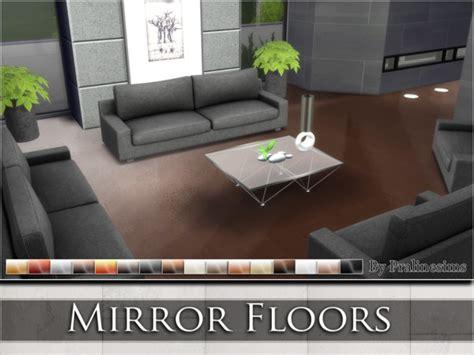 sims 4 mirror floors