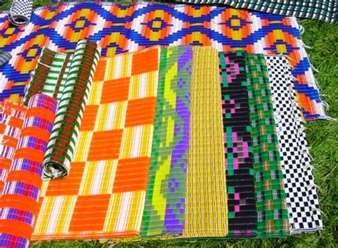 Plastic Woven Mats by Plastic Woven Mats From Africa The Global Grocery