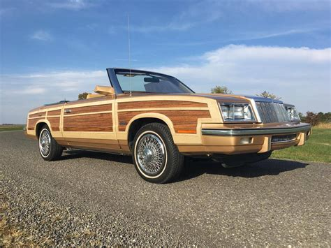 1985 Chrysler Lebaron For Sale 1890693 Hemmings Motor