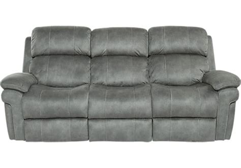 cindy crawford home alpen ridge reclining sofa reclining sofas manual power recliner couches