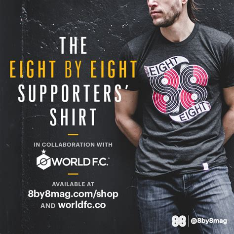 Tshirt Kaos Berak 8 One Clothing introducing the eight by eight supporters shirt eight