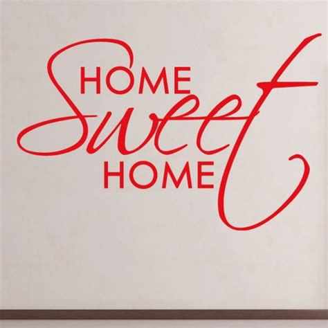 home wall sticker wall chimp made home sweet home kitchen wall sticker