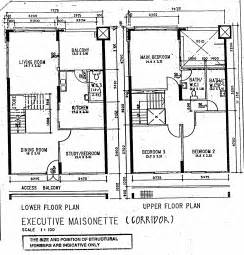butterpaperstudio reno t maisonette original floorplan