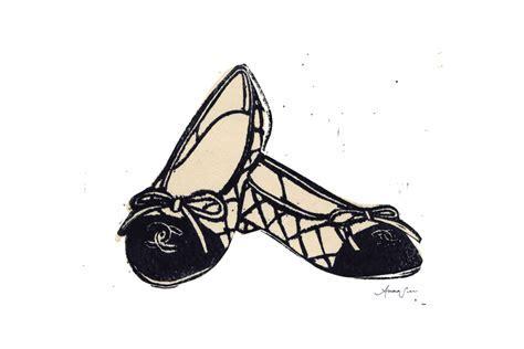 Chanel Ballet Flats by Anna See   Artfully Walls