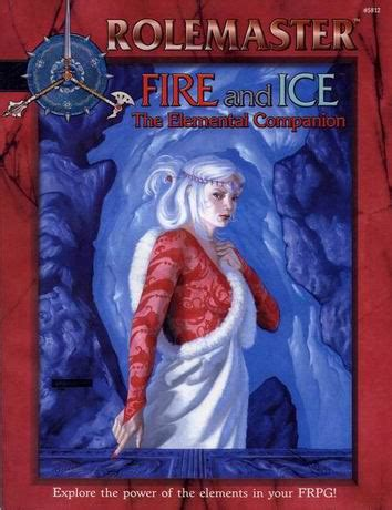 Rolemaster Companion 3 rolemaster and the elemental companion
