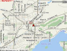 sudbury map and sudbury satellite image
