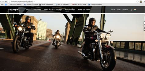 Motorcycle Apparel Wichita Ks by Triumph Motorcycles Official Site Autos Post