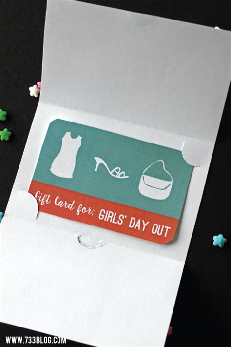 In Out Gift Card - girls day out gift card printable inspiration made simple