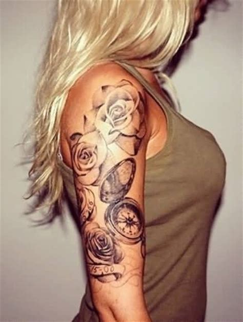 sleeve tattoo designs for females half sleeve ideas and half sleeve