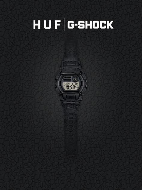Gshock X Huf huf x g shock skateboardmagazine