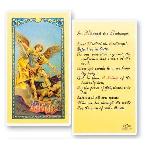 St Michael Prayer Card Printable