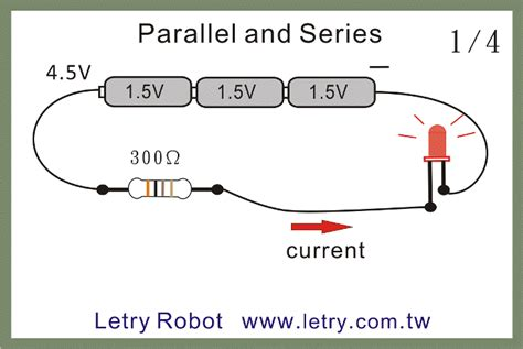 a 4 ohm resistor is connected in parallel parallel and series of resistors