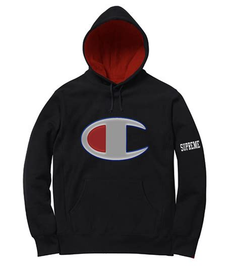 supreme clothing hoodie supreme chion hoodie tulips clothing