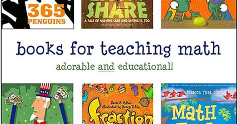 teaching math with picture books using picture books to teach math from http www the best