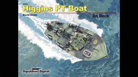higgins boat video higgins pt boat on deck youtube