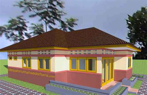 rumah idaman sederhana di desa desain rumah minimalis contoh gambar rumah