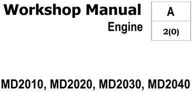 Volvo Penta 2020 Manual by Inboard Engines Volvo Penta Service Repair Workshop Manuals