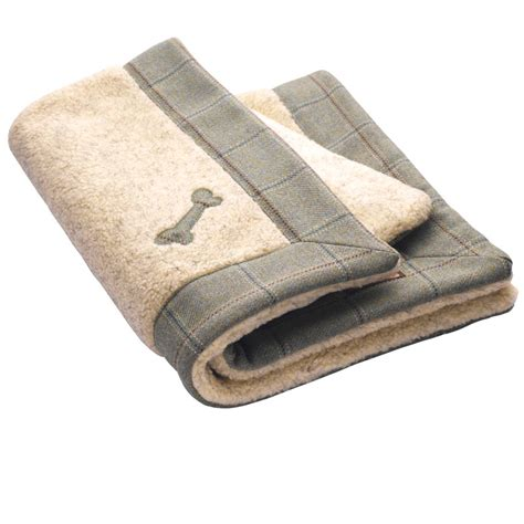 puppy blanket digby tweed blanket luxury blankets blankets by lovemydog