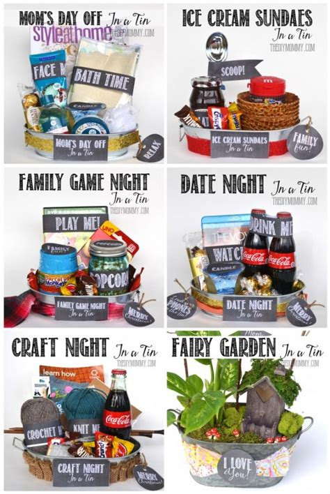 themed gifts for family do it yourself gift basket ideas for all occasions