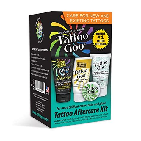 tattoo goo complete tattoo aftercare kit buy piercing tattoo supplies personal care online