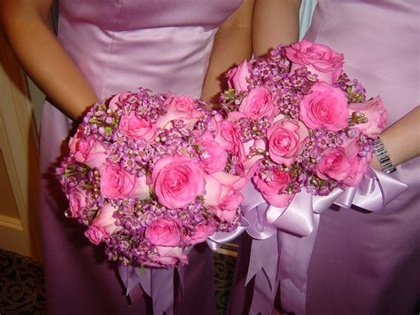 Wedding Pink Flowers by Pink Wedding Flowers