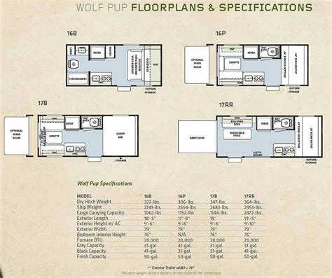 forest river travel trailers floor plans 2011 forest river cherokee travel trailer toy hauler