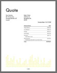 quotation invoice template on the professional time expense tracking and