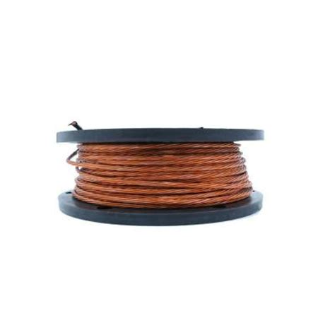 500 ft 8 bare copper grounding wire 050 2000j the