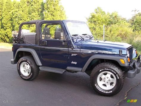 patriot blue jeep wrangler 2002 patriot blue pearl jeep wrangler sport 4x4 13311366