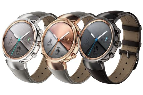 ASUS ZenWatch 3 is official at IFA 2016 in three new colors TalkAndroid.com