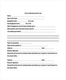 sample reimbursement form 17 free documents in pdf doc