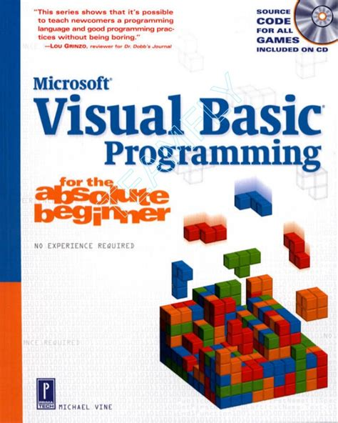 simple visual basic programs for beginners visual basic programming for the absolute beginner 2001