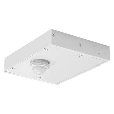 juno led under cabinet lighting direct wire juno ulh dwmoc wh direct wire occupancy sensor module