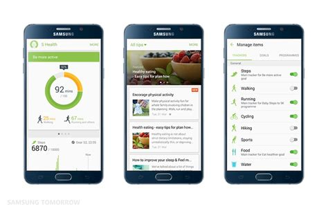 samsung health app 5 best free health apps for android trickvilla