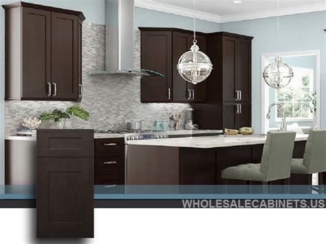 Espresso Shaker Kitchen Cabinets by Espresso Shaker Kitchen Cabinates Photos Pictures
