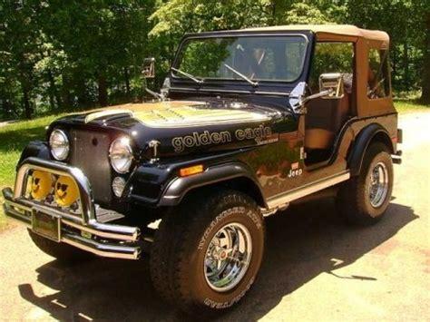 Golden Eagle Jeep For Sale Golden Eagle Edition 1978 Jeep Cj5 V8 Bring A Trailer