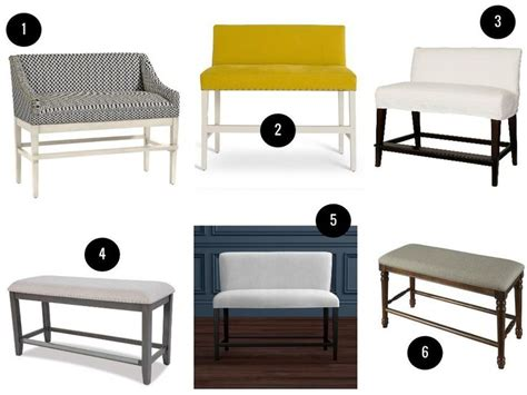 bar stool benches 25 best ideas about counter height bench on pinterest