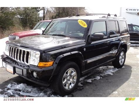 2008 Jeep Commander For Sale 2008 Jeep Commander Limited 4x4 In Brilliant Black