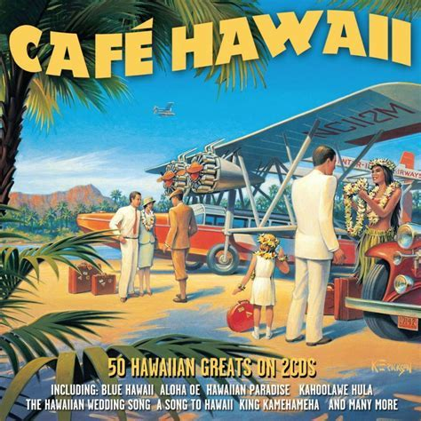 Cafe Hawaii VARIOUS ARTISTS Best Of 50 Hawaiian Songs